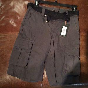 NWT First Wave boys cargo shorts